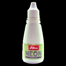Razítková barva Shiny SRN-1 neon zelená, 28 ml