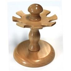 Stojánek na razítka jednopatrový, 8 míst, dřevo
