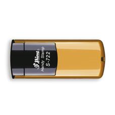 Kapesní razítko S-722, zlatá, rozměr otisku 38 × 14 mm