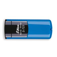Kapesní razítko S-723, modrá, rozměr otisku 47 × 18 mm