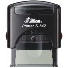 Razítko S-842 New Printer line, černý strojek