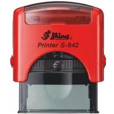 Razítko S-842 New Printer line, červený strojek