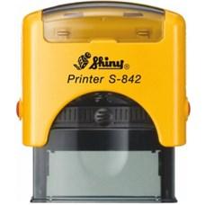 Razítko S-842 New Printer line, žlutý strojek
