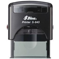 Razítko S-843 New Printer line, černý strojek