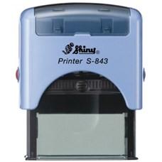 Razítko S-843 New Printer line, modrý strojek