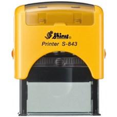 Razítko S-843 New Printer line, žlutý strojek