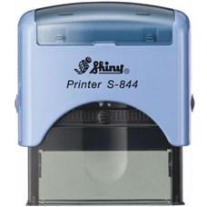 Razítko S-844 New Printer line, modrý strojek