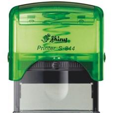 Razítko S-844 New Printer line, zelený transparentní strojek