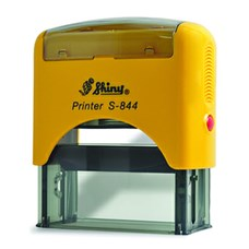 Razítko S-844 New Printer line, žlutý strojek