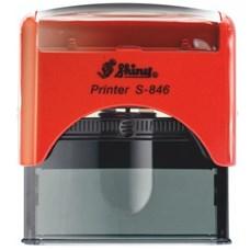 Razítko S-846 New Printer line, červený strojek