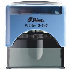 Razítko S-846 New Printer line, modrý strojek