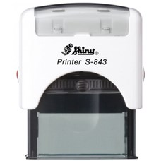 Razítko S-843 New Printer line, bílý strojek