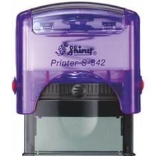 Razítko S-842 New Printer line, fialová transparentní
