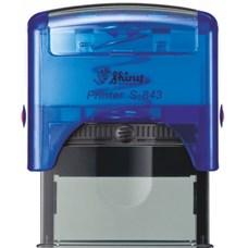 Razítko S-843 New Printer line modrá transparentní