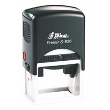 Razítko S-836 Printer Line, rozměr otisku max.  45 × 30 mm