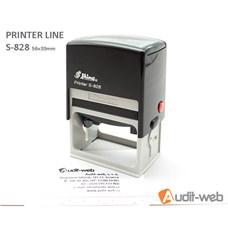 Razítko S-828 Printer Line, rozměr otisku max. 56 × 33 mm
