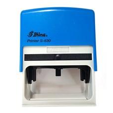 Razítko S-830 modrý strojek, rozměr otisku max. 75 x 38 mm