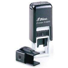 Razítko Shiny S-820 Printer Line, černá, rozměr otisku max. 12 × 6 mm