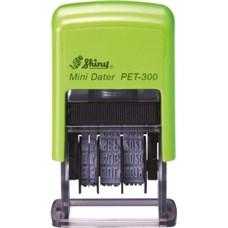 Datumové razítko PET-300 Eco Line, výška data 3mm, DD.MM.RRRR