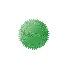 Samolepící hvězdičky (zelená), formát A4 (15 ks), pro průměr do 50 mm