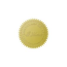 Samolepící hvězdičky (zlatá), formát A4 (24 ks), pro průměr do 41 mm