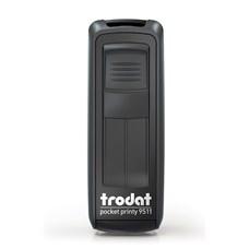 Kapesní razítko Trodat Pocket Printy 9511, eco black