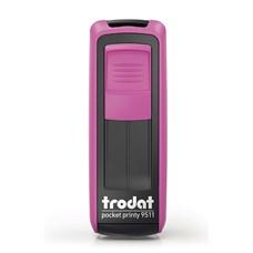 Kapesní razítko Trodat Pocket Printy 9511, fuchsia pink