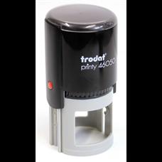 Kulaté razítko TRODAT Printy 46050, černá, max. průměr otisku 50 mm