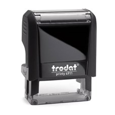 Razítko Trodat Printy 4911, černý strojek