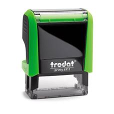 Razítko Trodat Printy 4911, zelený strojek