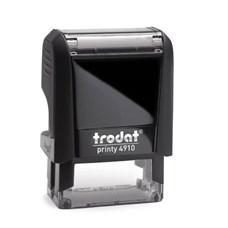 Razítko TRODAT Printy 4910, černá, otisk max 26 × 9 mm