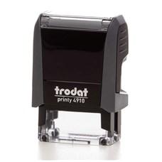 Razítko TRODAT Printy 4910, šedá, otisk max 26 × 9 mm