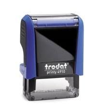 Razítko TRODAT Printy 4910, modrá, otisk max 26 × 9 mm