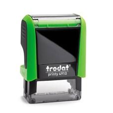 Razítko TRODAT Printy 4910, zelená, otisk max 26 × 9 mm