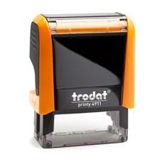 Razítko Trodat Printy 4911, neon oranžová