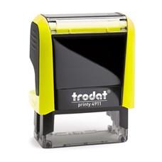 Razítko Trodat Printy 4911, neon žlutá