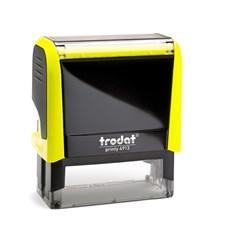 Razítko Trodat Printy 4913, neon žlutá