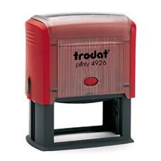 Razítko TRODAT Printy 4926, červená, otisk 75 × 38 mm