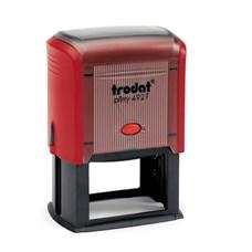 Razítko TRODAT Printy 4927, červená, otisk 60 × 40 mm