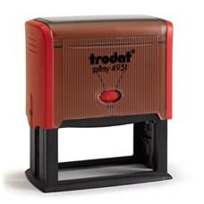 Razítko TRODAT Printy 4931, červená, otisk 70 × 30 mm