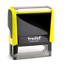Razítko Trodat Printy 4912, neon žlutá