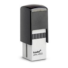 Razítko TRODAT Printy 4922, černá, otisk 20 × 20 mm