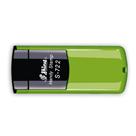 Kapesní razítko S-722, zelená, rozměr otisku 38 × 14 mm