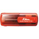 Kapesní razítko S-723, červená transparentní, rozměr otisku 47 x 18 mm - VÝPRODEJ