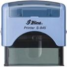 Razítko S-845 New Printer line, modrý strojek