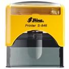 Razítko S-846 New Printer line, žlutý strojek