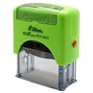 Razítko PET-843 Eco Line, zelená, rozměr 47 × 18 mm