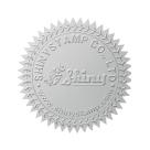 Samolepící hvězdičky (stříbrná), formát A4 (15 ks), pro průměr do 50 mm