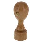 Kulaté dřevěné razítko DK 23, průměr 23 mm