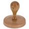Kulaté dřevěné razítko DK 85, průměr 85 mm